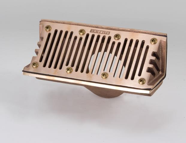 1560 Cast Bronze Body Scupper Drain - Jay R. Smith MFG Co.