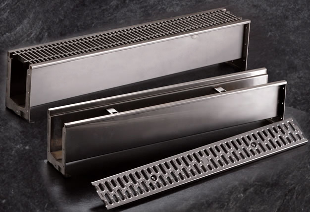 9660 Modular Stainless Steel Trench Drain System Jay R
