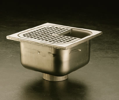 9691-9699 14 Gage Stainless Steel Floor, Area & Indirect Waste Drains ...