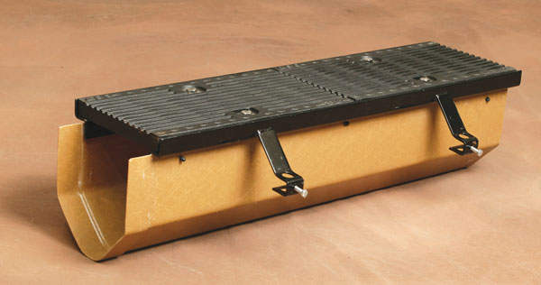 10 Quot Wide High Capacity Pre Sloped Fiberglass Trench Drain