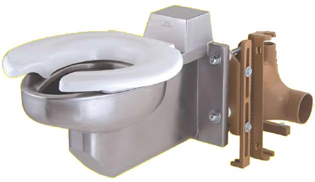 9901 Bariatric Wall Mounted Toilet Jay R Smith Mfg Co