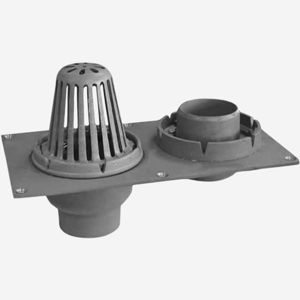 148 Roof Amp Overflow Drain Light Commercial Plumbing