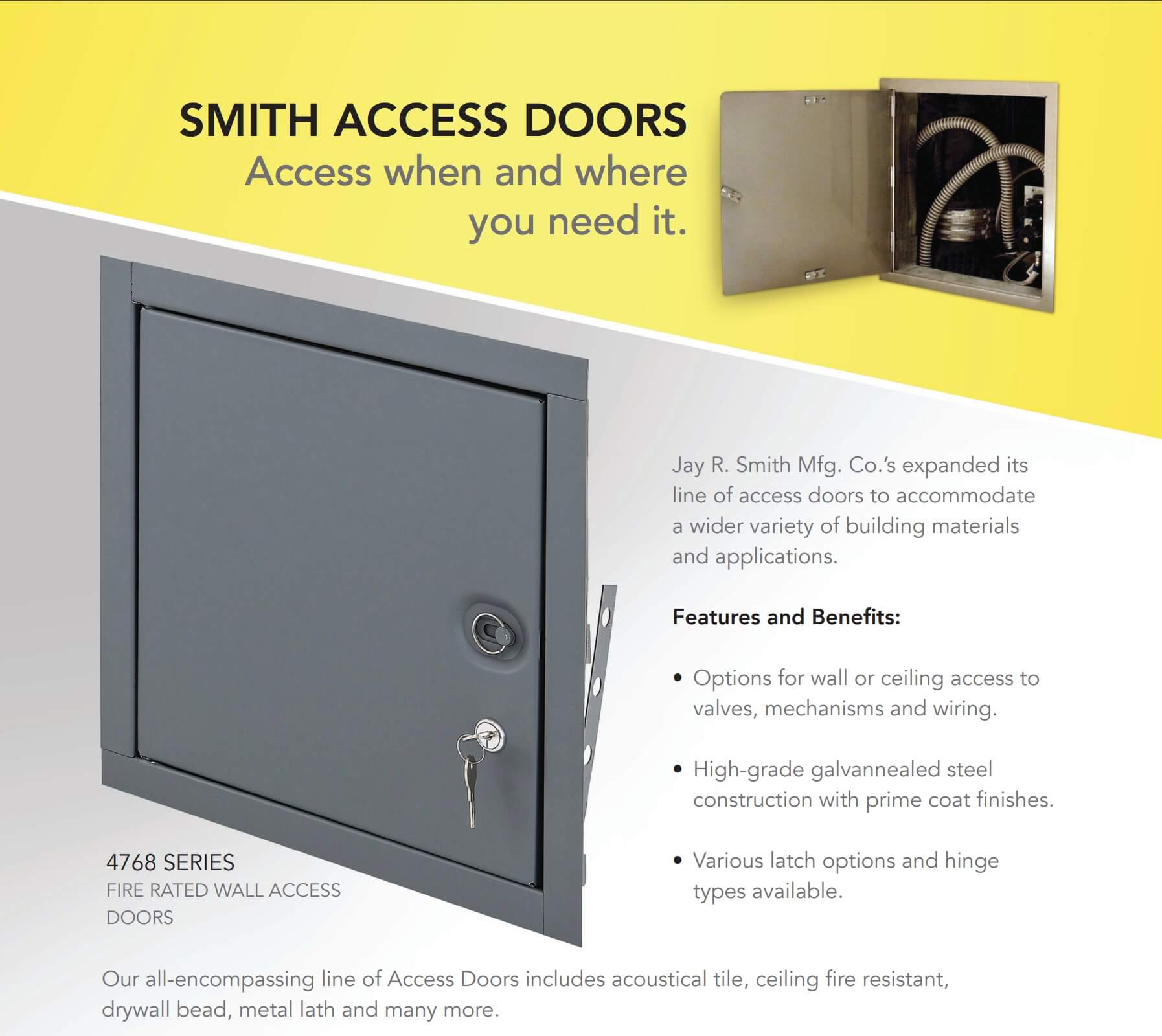 Smith Access Doors