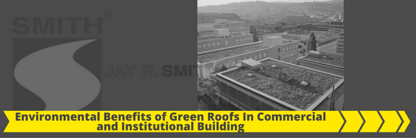 Environmental Benefits of Green Roofs in Commercial and Institutional Building