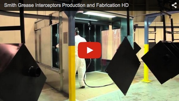 Smith Grease Interceptors Production and Fabrication HD