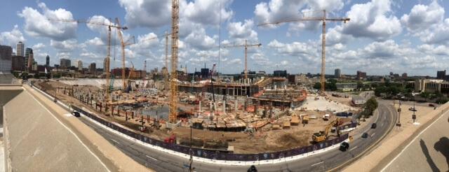 Vikings Stadium Construction Picture