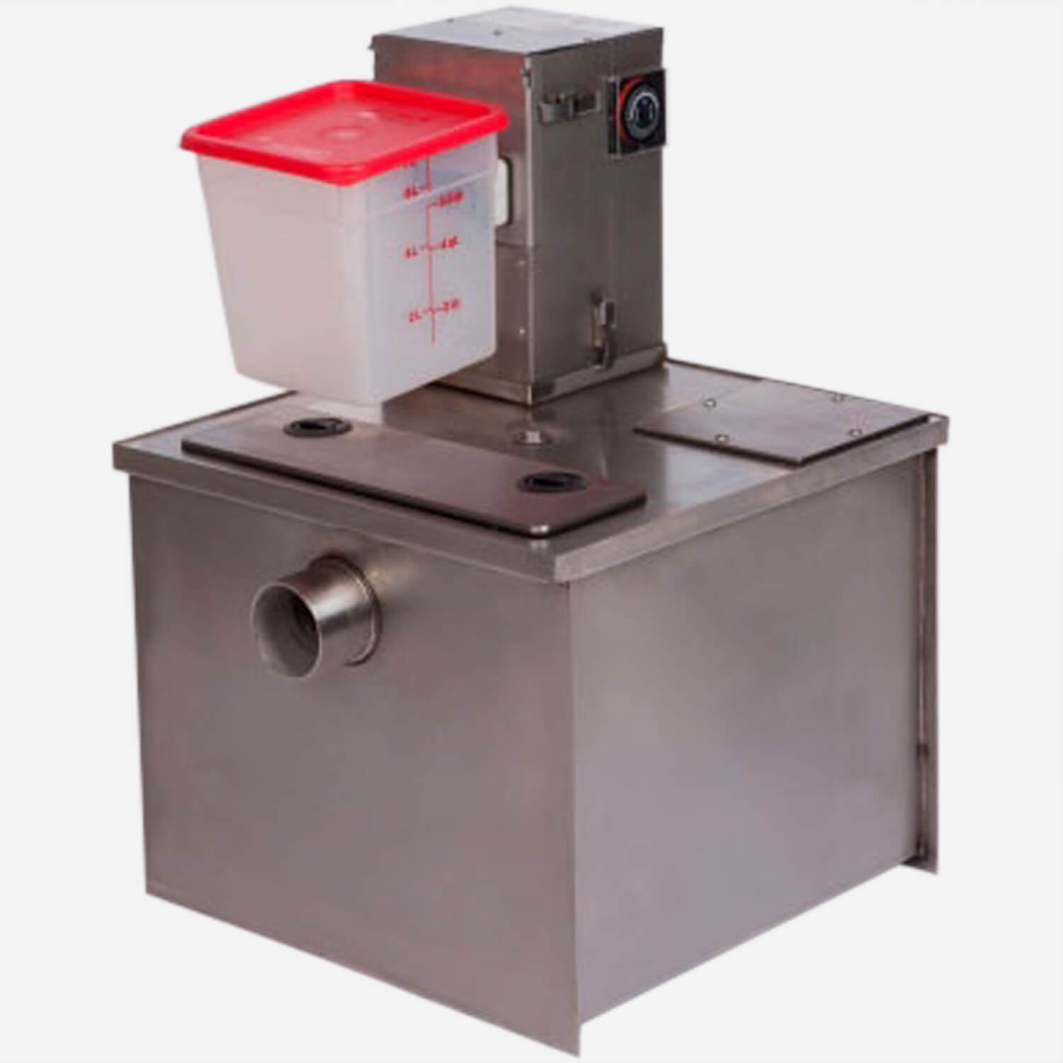 Stainless Steel Grease Recovery Device (GRD)with Grease+Gard®II