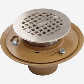 Flashing Strainer Type Floor Drain