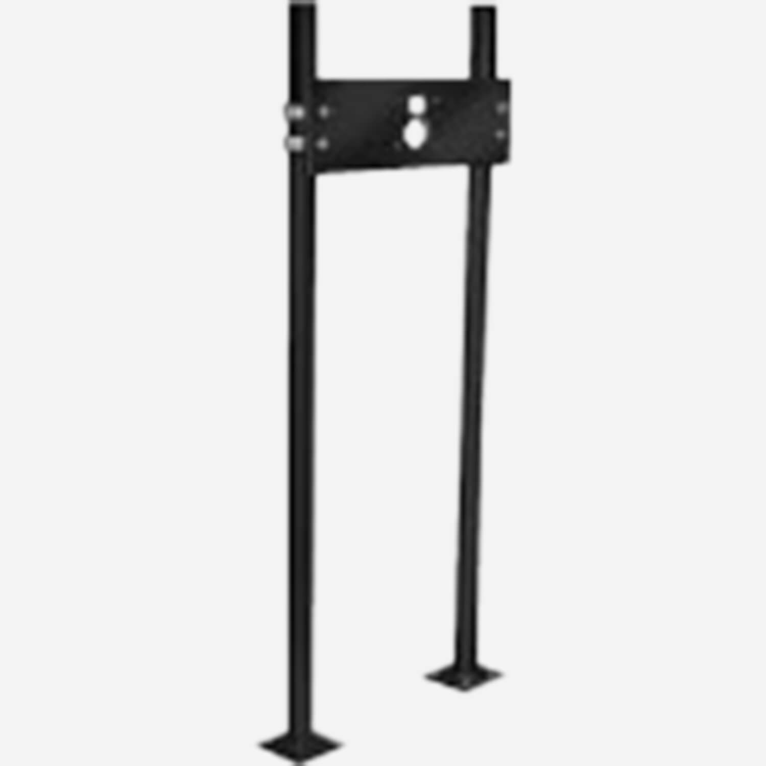 Pro-Set Upright for Multiple Drinking Fountains with Concealed Wall Brackets - Floor Mounted