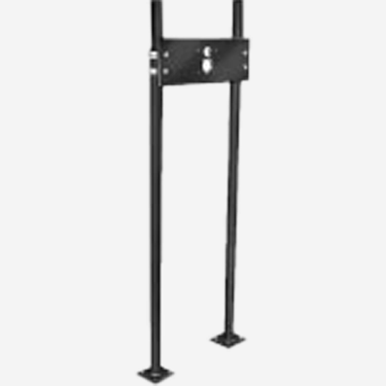 Pro-Set Upright for Small Drinking Fountains with Integral Concealed Hanger - Floor Mounted