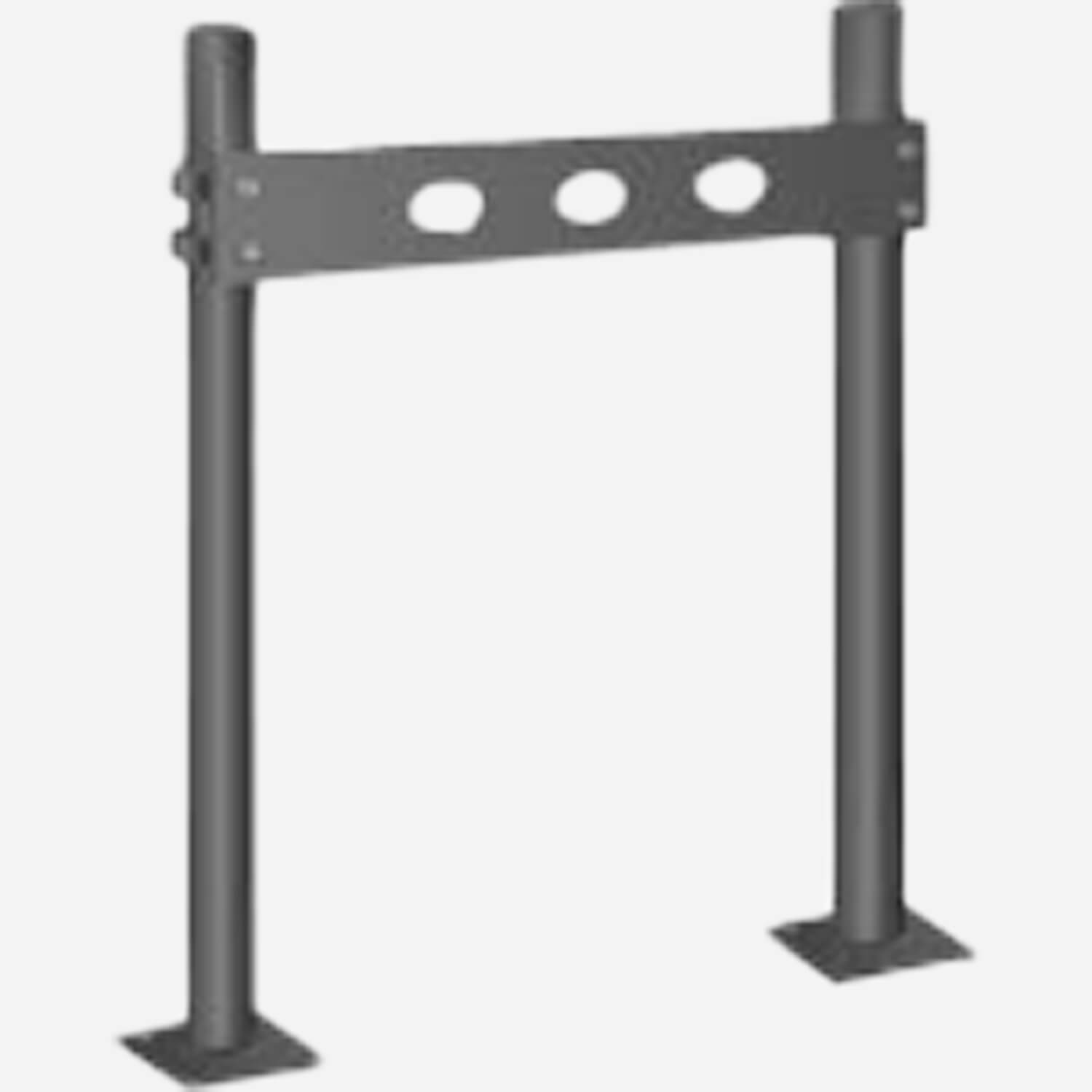 Pro-Set Upright for High Back Institutional Type Lavatories - Floor Mounted