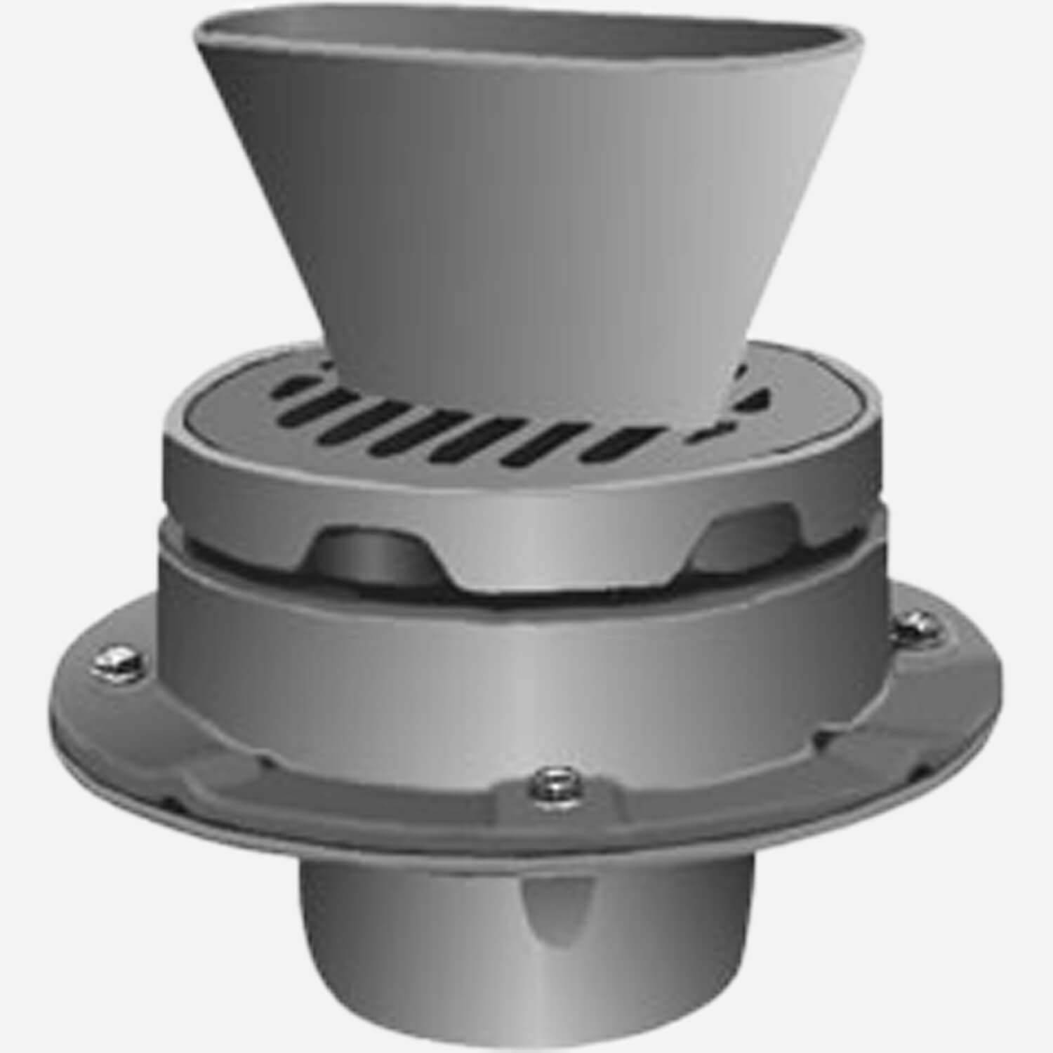 Adjustable Round Top and Oval Funnel
