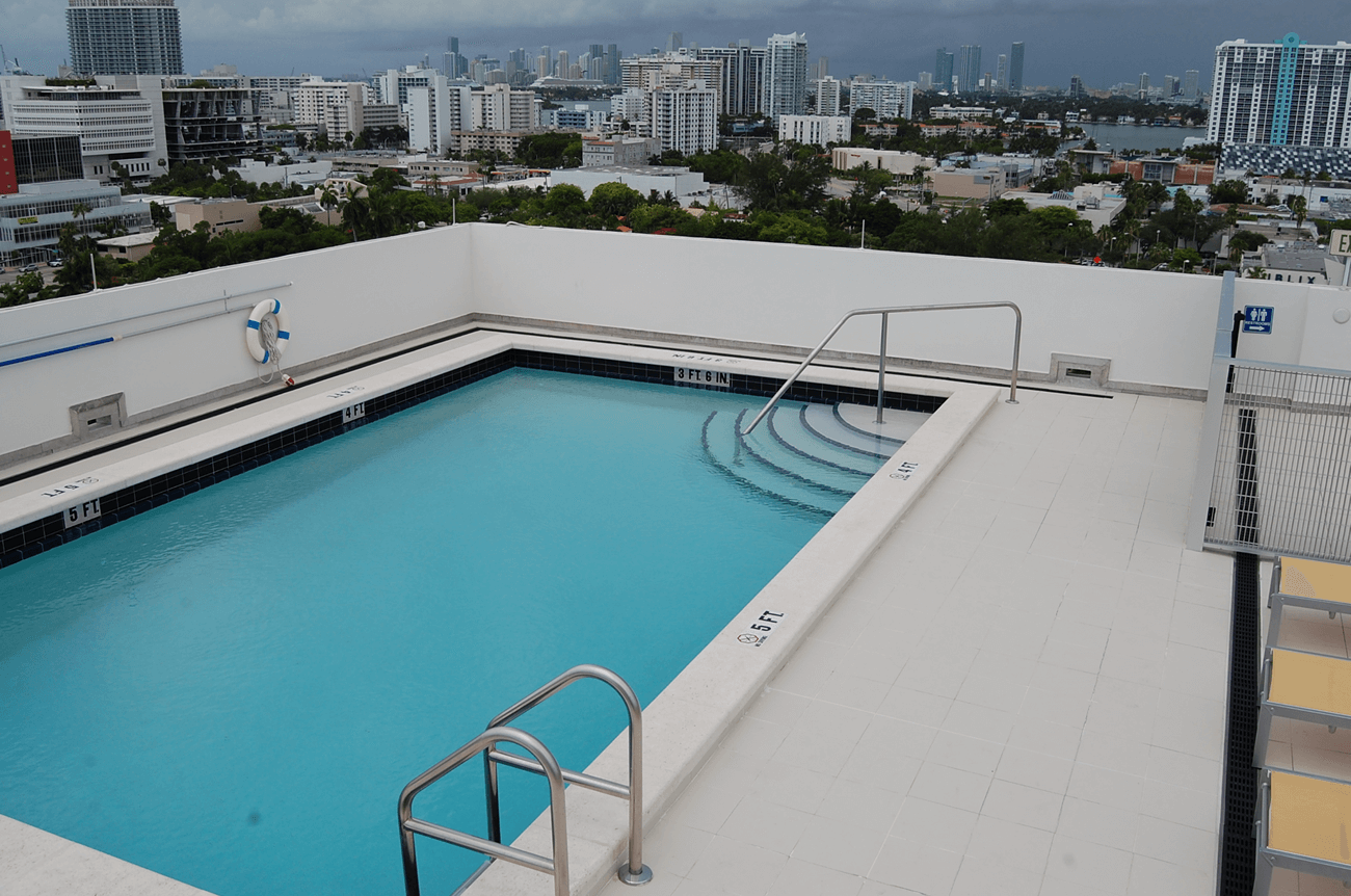 Photo album view jay r smith mfg co for Rooftop swimming pool