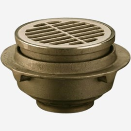 Round Adjustable Top Floor Drain