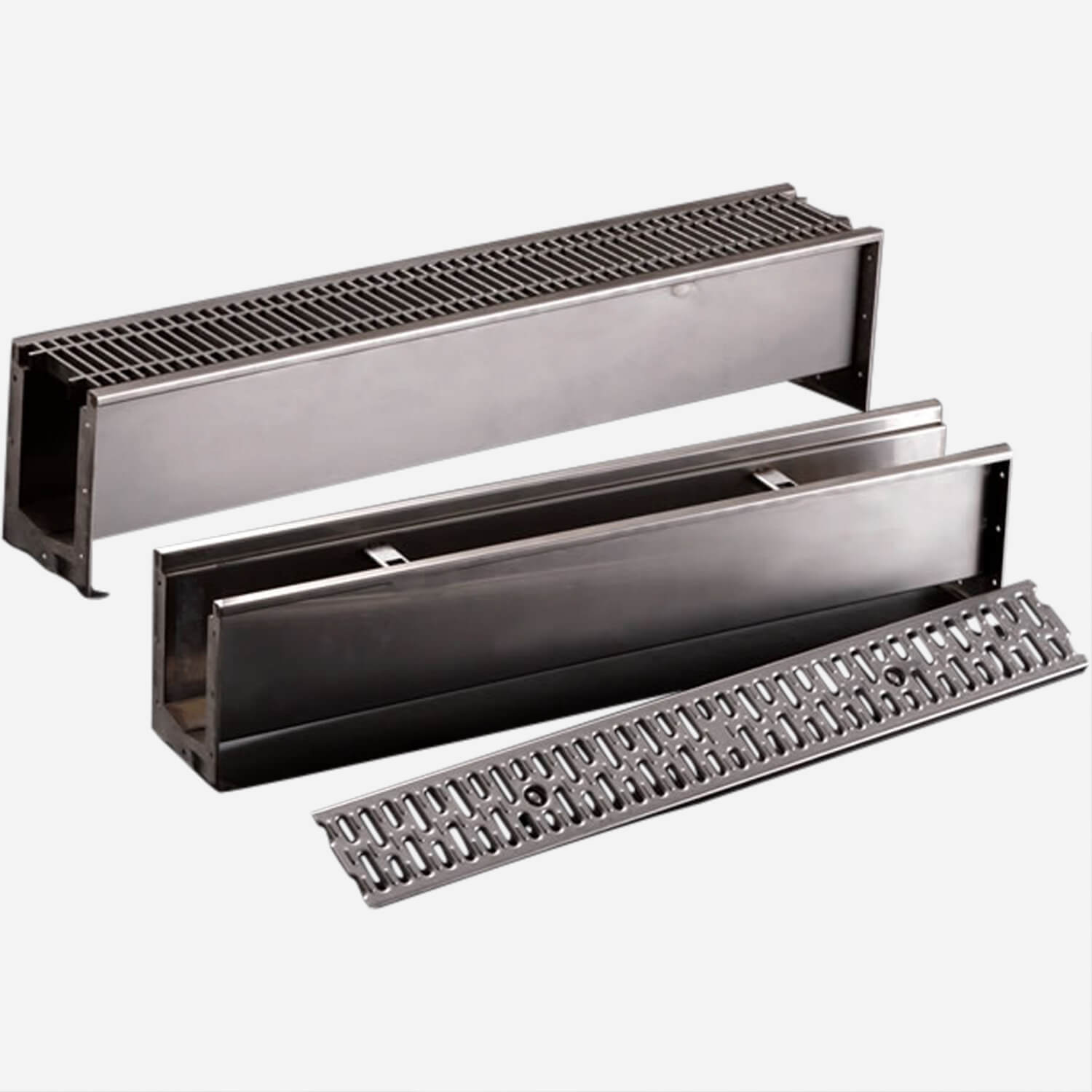 Modular Stainless Steel Trench Drain System
