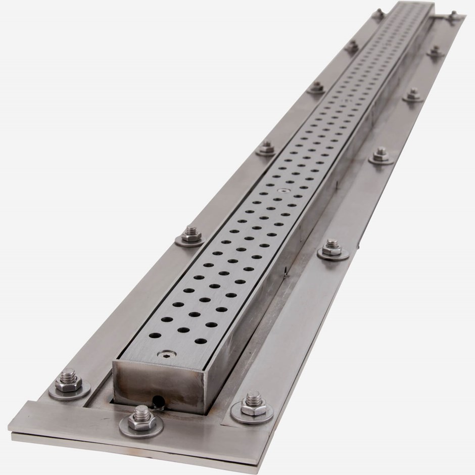 9666 2 Quot Wide Stainless Steel Ada Shower Drain Jay R