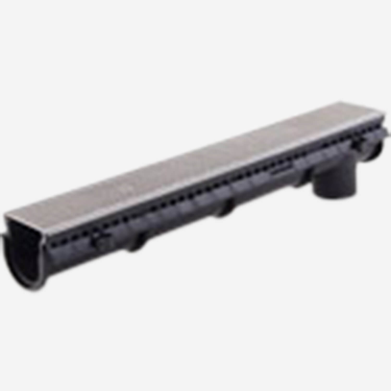 "6"" Wide Polypropylene Trench Drain System- Enviro-Flo II ®"