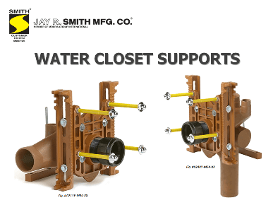 Updated Water Closet Supports Presentation