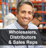 Wholesalers Distributors and Sales Reps