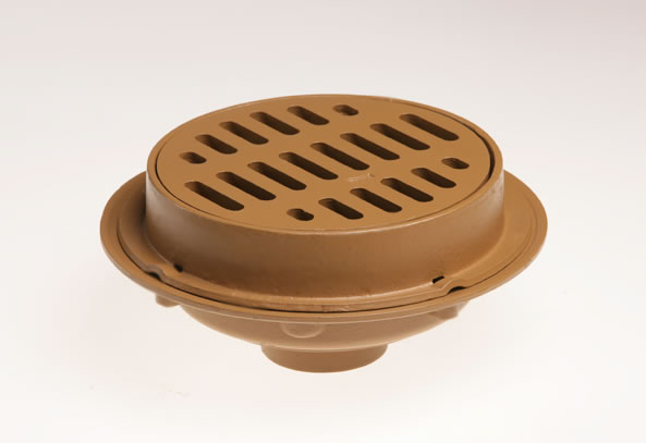 2140 heavy duty floor drains with 12 round tops jay r for 12 x 12 floor drain grate