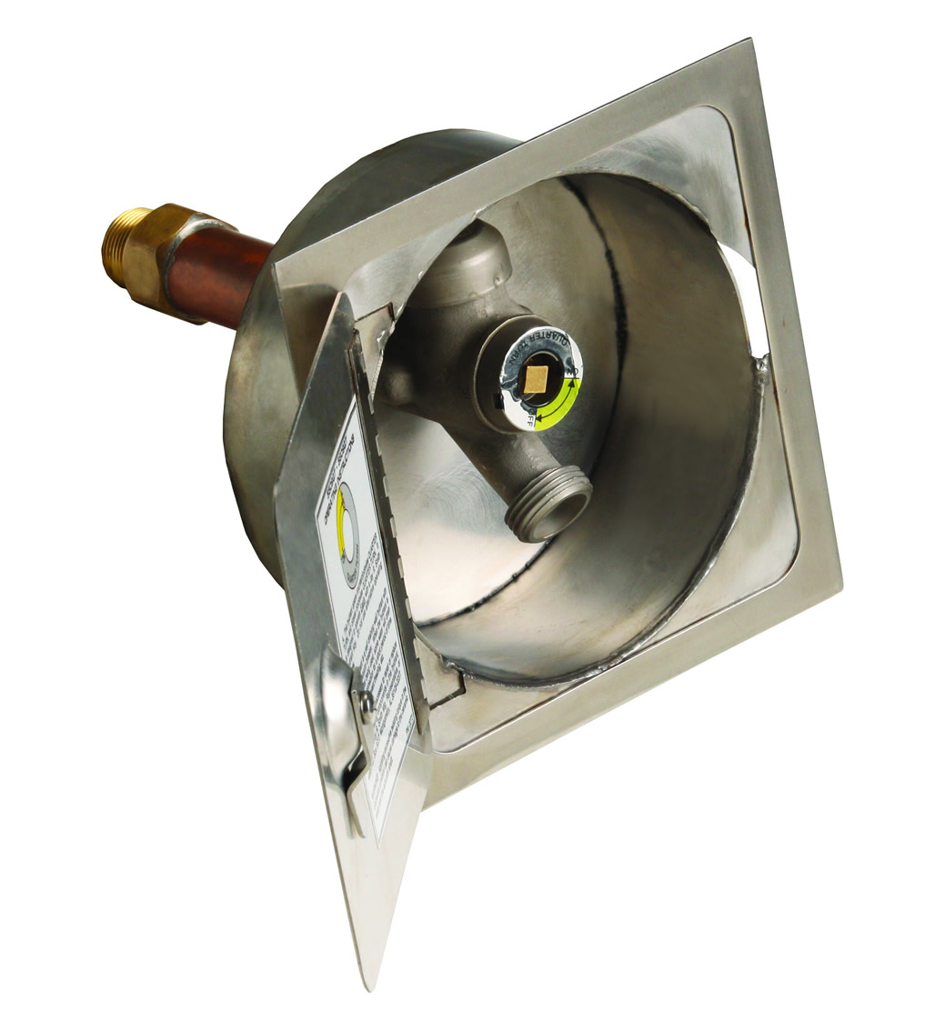 5509qt R Stainless Steel Cored Hole Drill Hydrant Box