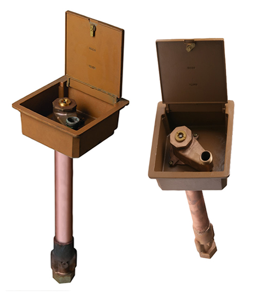 5812 Non Freeze Boxed Ground Hydrants Jay R Smith Mfg Co