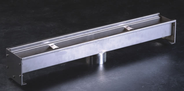 9660 10n Modular Stainless Steel Trough Trench Drain