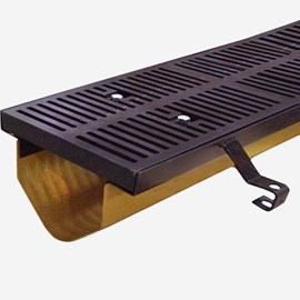 Slotted Ductile Iron Grate (Extra Heavy Duty Grate for 9872 Drainage System)