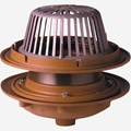 Large General Purpose Roof Drains with Adjustable Extension