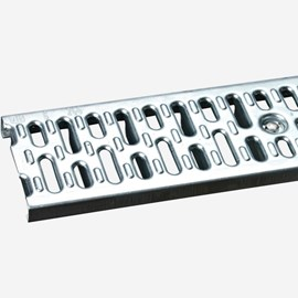 Slotted Galvanized Steel Grate (Extra Heavy Duty)