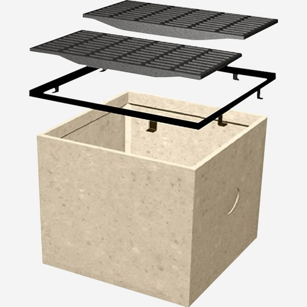 sump pit 9848 sump box polymer concrete catch basin jay r smith mfg co