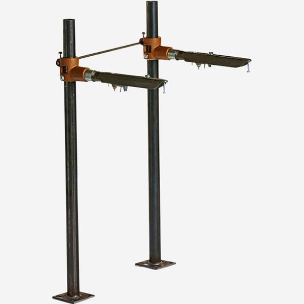 0700 Pro Set Upright For High Back Lavatories Floor