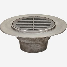Floor Drains with Medium Duty Top and Extended Integral Flange