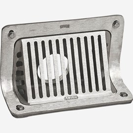 Scupper Drain with Angle Grate