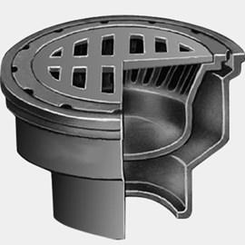 """Safe-Set"" Bucket Floor Drain"