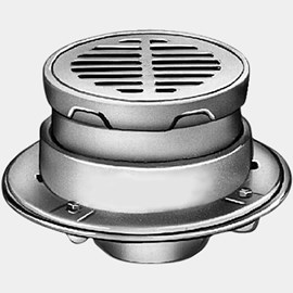 Medium Duty Drains with Round Adjustable Tops