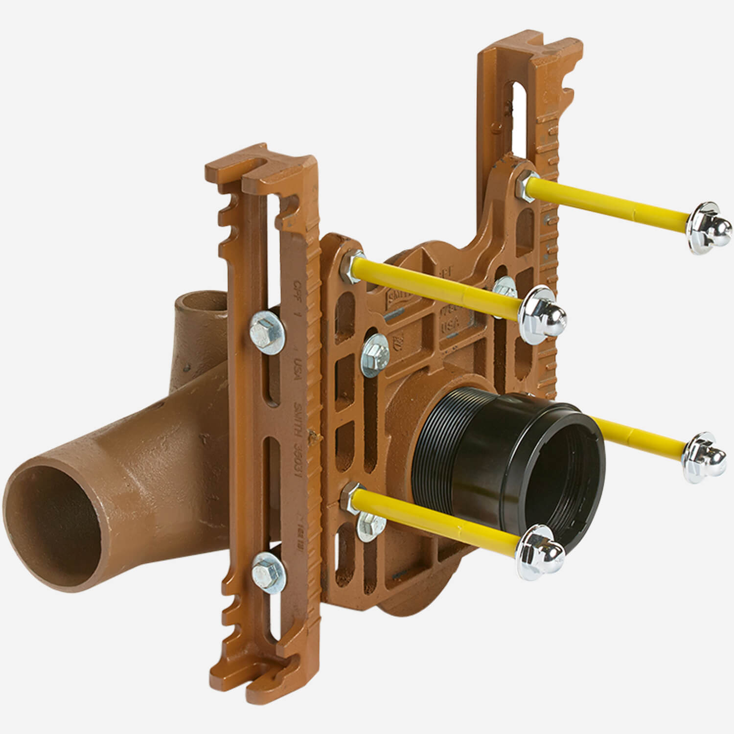 Adjustable Fixture Supports For Siphon Jet Water Closets