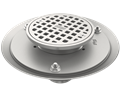 General Purpose Floor Drain With Adjustable Strainer Head