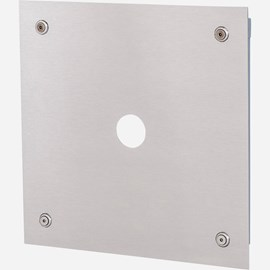 Flush Valve Panel And Frame