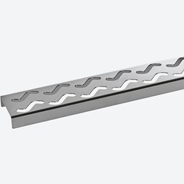 Wave Grate for 9667 Shower Drain