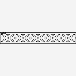 (Load Class A: Light Duty Grate) Plastic Decorative Gray