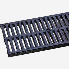 Ductile Iron Slotted Longitudinal Grate (Load Class E: Extra Heavy Duty)