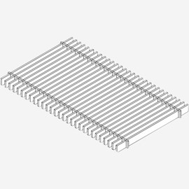 Stainless Steel Bar Grate (Load Class C:Heavy Duty Grate