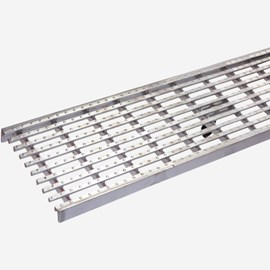 Longitudinal Stainless Steel Slot Bar Grate (Load Class A: Light Duty Grate)