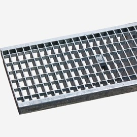 Slotted Galvanized Steel (Load Class C: Heavy Duty Grate)