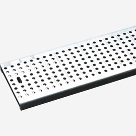Perforated stainless steel grate (Load Class C: Heavy Duty)