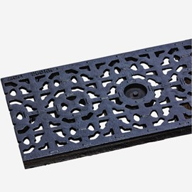 Mosaic Pattern Ductile Iron Grate (Load Class C: Heavy Duty)