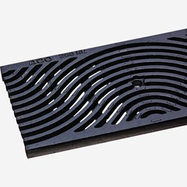 Iron Wave Pattern Ductile Iron Grate (Load Class C: Heavy Duty)