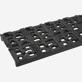 Iron Decorative Pattern Ductile Iron Grate (Load Class C: Heavy Duty)