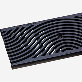 Iron Wave Pattern Ductile Iron (Load Class C: Heavy Duty Grate)